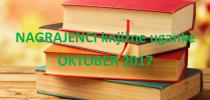 NAGRAJENCI KNJIŽNE UGANKE MESECA OKTOBRA 2017