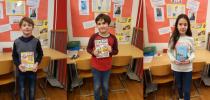 Nagrajenci knjižne uganke za December 2019